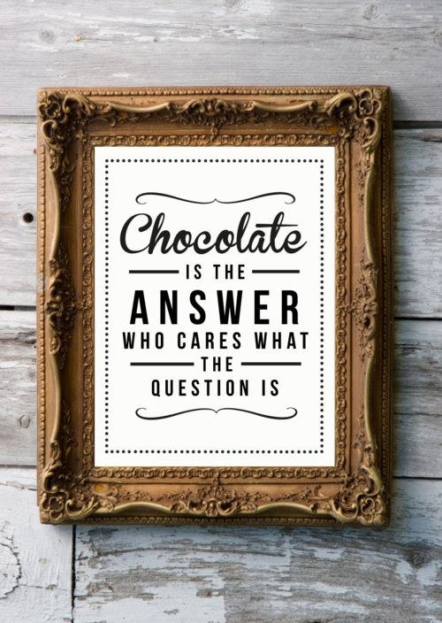Whatever the Question is...