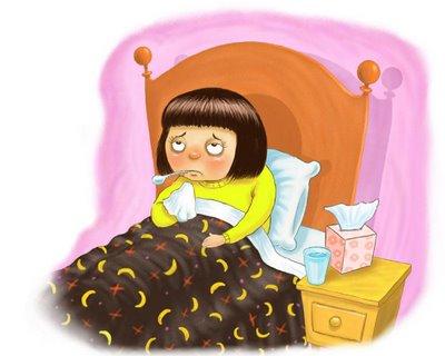 How i hate getting sick