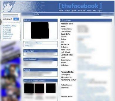 Facebook 2005