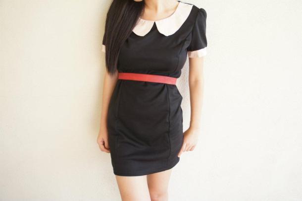 Vintage Collar Dress