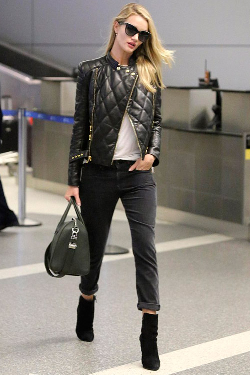la-modella-mafia-Rosie-Huntington-Whiteley-2013-model-off-duty-street-style-in-a-Balmain-leather-quilted-jacket-and-cropped-jeans-2